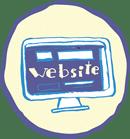computador con pagina web